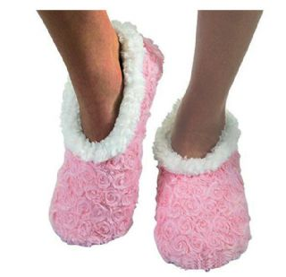 Childrens Girls Fleece Lined Snoozies Slippers Fairytale Ballet Shoes Gift