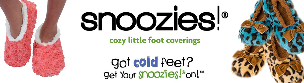 snoozies... not socks, not slippers, something in-between!