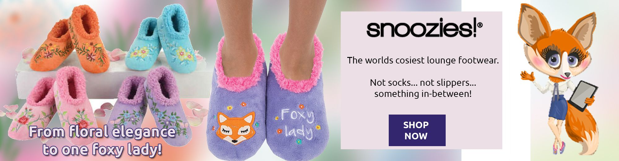 Snoozies Soft Slippers