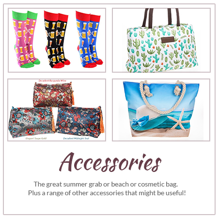 Accessories and Beach Bags